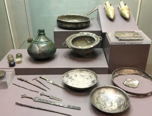 Il bagaglio per l'aldilà di una donna etrusca